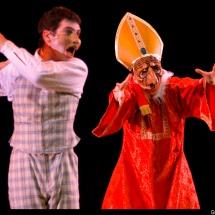 Candide avec l'Inquisiteur